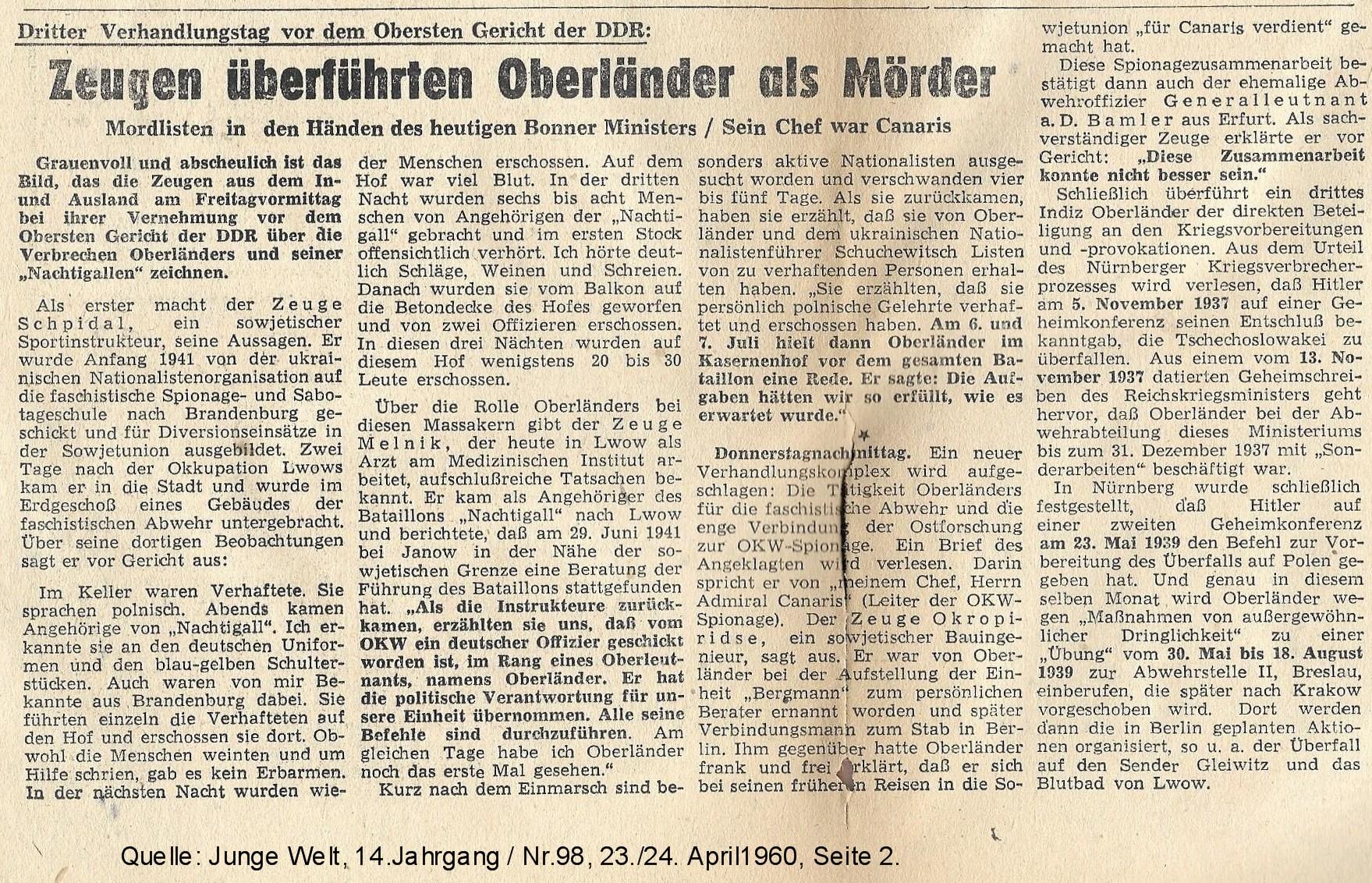 600423 JW Oberländer