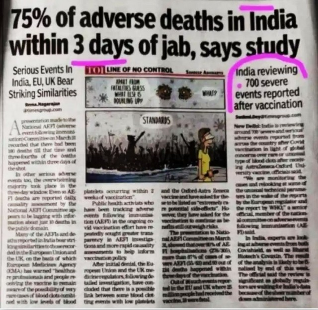 Impfmord Indien
