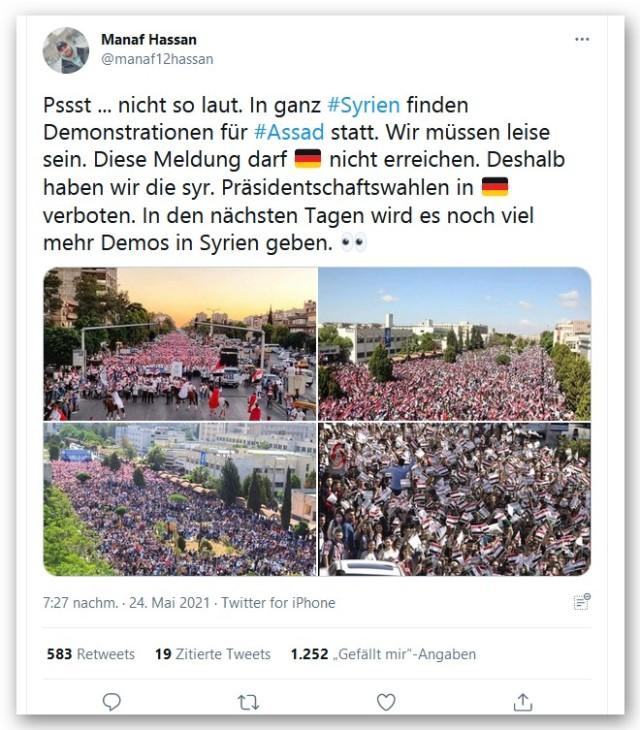 Syrien pro Assad