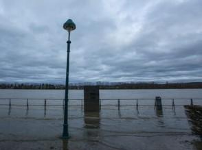 Ansage Hochwasser