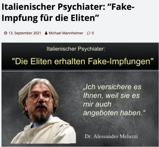 Fake-Impfungen
